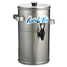STAINLESS STEEL BEVERAGE DISPENSERS - 3 GALLON