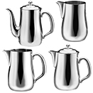 BEVERAGE SERVERS, SOPRANO COLLECTION, 18/8 STAINLESS