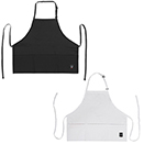 BIB APRON, MID-LENGTH, 3 POCKETS
