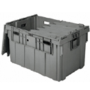 STORAGE BOX, HINGED LID
