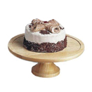 WOOD DISPLAY/CAKE STAND AND COVER - 13