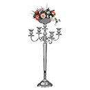 5 LIGHT CANDELABRA, NICKELPLATED