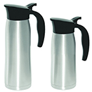 CARAFES, SLIM DESIGN, STAINLESS