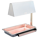 CAYENNE<SUP>®</SUP> OHC-500 HEAT LAMP, 120V, ADJUSTABLE ARM, CHROME / STAINLESS