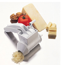HAND HELD CHEESE GRATER, PKG/4