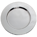CHROMEPLATED CHARGER PLATE