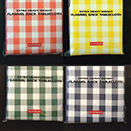 FINISHED PREPACKAGED TABLECLOTHS, CHECKPATTERN, VARIETY OF COLORS, 36 VARIETY PACK