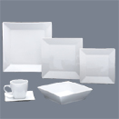PORCELAIN WHITE SQUARE COLLECTION