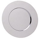 CHROMEPLATED CHARGER PLATES, SET/4