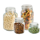 CLAMP TOP LID JARS