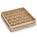 20 COMPARTMENT CLOSED WALL CUP RACK, BEIGE