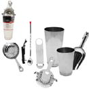 8 PC COCKTAIL KIT, STAINLESS
