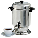 55 CUP STAINLESS COFFEE MAKER