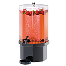 COLD BEVERAGE DISPENSERS WITH ICE CHAMBER, PACIFICA STYLE, ACRYLIC