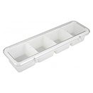 BAR CADDY, 4 COMPARTMENT