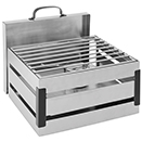 CRATE RECTANGULAR CHAFER, LIFT OFF LID, 4 QT., STAINLESS