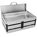CRATE RECTANGULAR CHAFER, LIFT OFF LID, 8 QT., STAINLESS