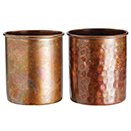 ANTIQUE COPPER CUP