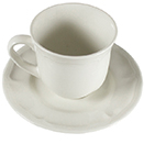 SUZANNE CHINA - SUZANNE CUP & SAUCER, 8 OZ, CASE OF 4 DOZEN