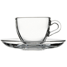 3 OZ CUP & SAUCER, CASE OF 4 DOZEN