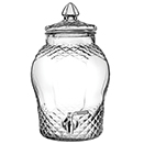 1.5 GALLON GLASS BON BON DISPENSER