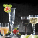 DISPOSABLE STEMWARE - 8 OZ RIBBED GOBLET, 1 PC, 96 EACH