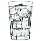 12.25 OZ DRINKING GLASS, CASE OF 4 DOZ