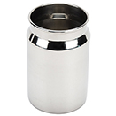 DRINK CAN, 15 OZ., STAINLESS STEEL