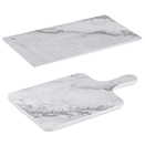 FAUX MARBLE SERVING BOARDS, MELAMINE
