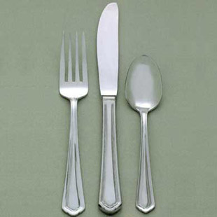 CORTLAND FLATWARE COLLECTION, STAINLESS