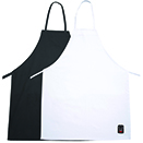 FULL LENGTH BIB APRONS, COTTON/POLY BLEND