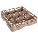 9 SQUARE COMPARTMENT RACK, BEIGE