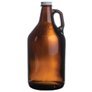 64 OZ. GLASS BEER GROWLER