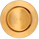 ACRYLIC CHARGER PLATE, GOLD