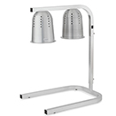 ADJUSTABLE HEIGHT FREE STANDING ALUMINUM HEAT LAMP