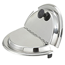 SOUP MARMITE CHAFERS, LIFT OFF LID, 18/8 STAINLESS - HINGED COVER FOR CHSS-175 AND CHSS-178