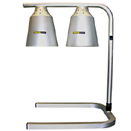 DUAL HEAT LAMP, ADJUSTABLE HEIGHT