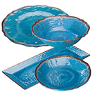 LUZIA BLUE DINNERWARE