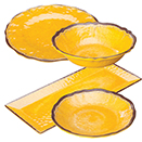 LUZIA YELLOW DINNERWARE