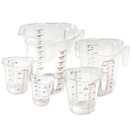 MEASURING CUPS (POLYCARBONATE)