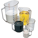 MEASURING CUP, POLYCARBONATE