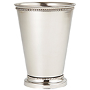 MINT JULEP CUP, STAINLESS STEEL - 6 OZ., 3.5