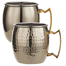 GOLD MOSCOW MULE MUGS