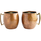 ANTIQUE COPPER MOSCOW MULE MUG