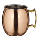 20 OZ MOSCOW MULE MUG, COPPER PLATED, EACH