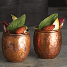ANTIQUE COPPER MINI MOSCOW MULE TUMBLER