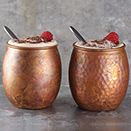 ANTIQUE COPPER MOSCOW MULE TUMBLER