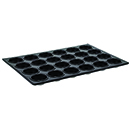 MINI MUFFIN PAN, 24 CUP,  NON-STICK SURFACE HEAVY ALUMINUM