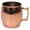 20 OZ. MULE MUG, COPPER FINISH, HAMMERED