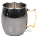 20 OZ. MULE MUG, BLACK NICKEL FINISH